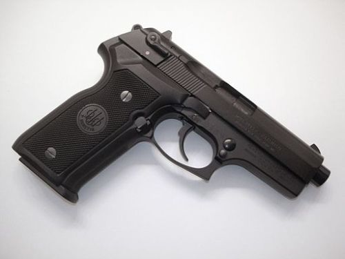 Beretta_8045_LAPD_pistol